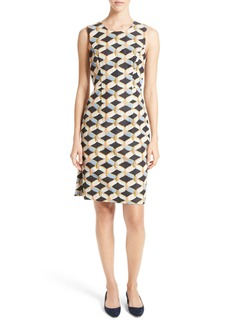 Milly Kendra Chain Print Shift Dress