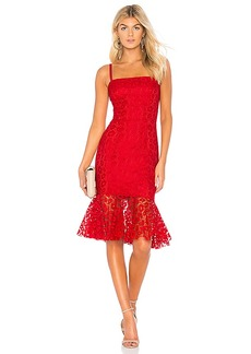 MILLY Kiss Lace Grace Dress