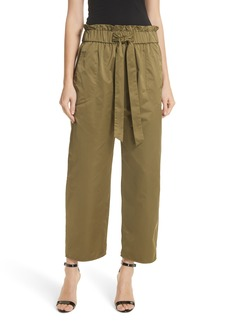 Milly Kori Paperbag Waist Pants
