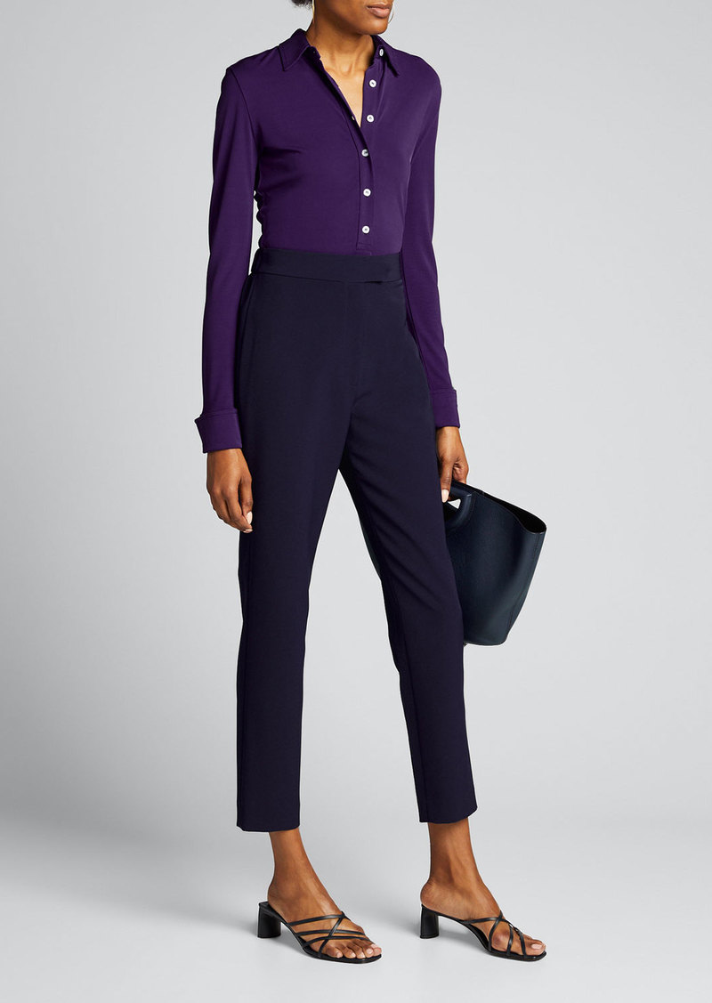 Milly Kristen Elastic Cady Pant