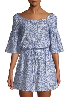 Milly Linda Embroidered Coverup