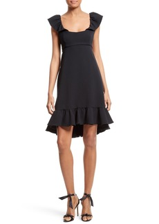 Milly Lindsey Ruffle Dress