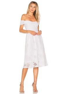 MILLY Louisa Dress in White. - size 0 (also in 2,4)