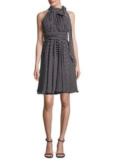 MILLY Lydia Dot-Print Dress