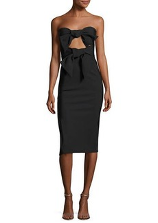 Milly Mackenzie Strapless Sweetheart Cocktail Dress