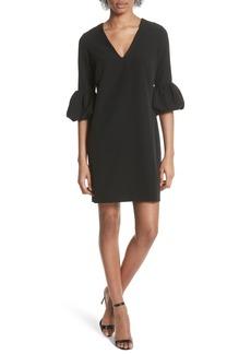Milly Mandy Ruffle Cuff Shift Dress