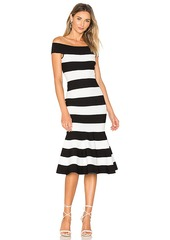 MILLY Mermaid Dress in Black & White. - size S (also in M,XS)
