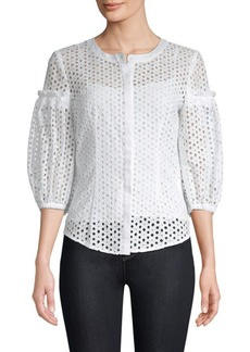 Milly Michelle Cotton Blouse