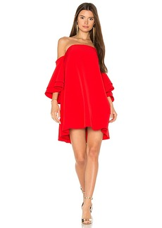 MILLY Mila Dress in Red. - size 2 (also in 0,4,6)