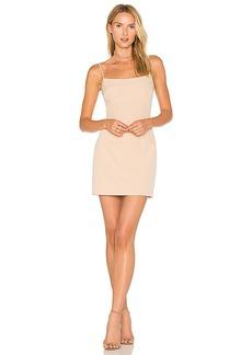 MILLY Mini Slip Dress in Beige. - size 4 (also in 0,2,6,8)