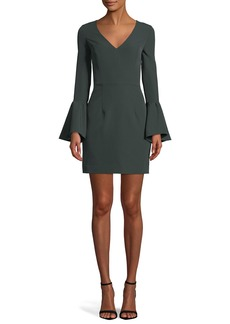 Milly Morgan Italian Cady Dress