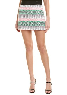 Milly Multi Print Pattern Mini Skirt