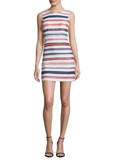 MILLY Multicolor Sleeveless Shift Dress