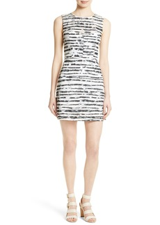 Milly Nina Burnout Sheath Dress