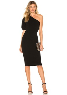 MILLY One Shoulder Dress