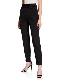 Milly Paperbag Belted Trousers
