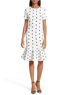 Milly Polka Dot Mermaid Dress