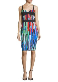 Milly Printed Corset Dress