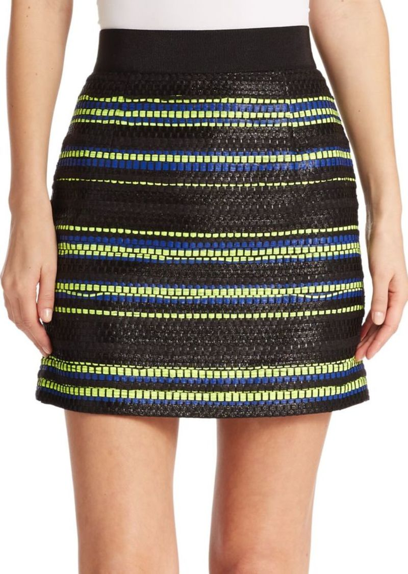 Milly Printed Mini Skirt