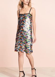 Milly Printed Sequin Mini Dress