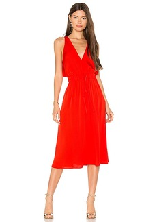 MILLY Reese Dress in Red. - size M (also in S,XS)
