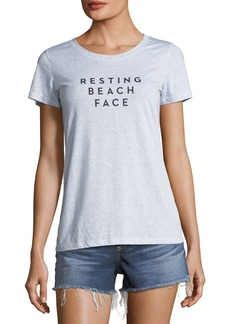 Milly Resting Beach Face Crewneck Tee