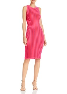 MILLY Ribbed-Knit Bodycon Dress