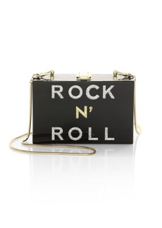 Milly Rock N' Roll Smoky Box Clutch