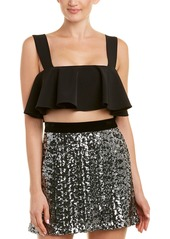 Milly Ruffle Crop Top