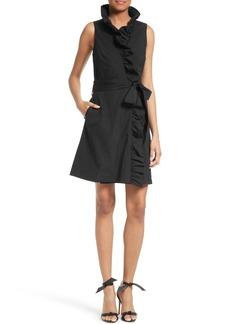 Milly Ruffle Wrap Dress
