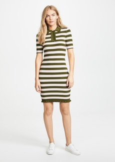 Milly Ruffled Polo Dress
