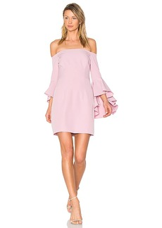 MILLY Selena Mini Dress in Pink. - size 0 (also in 2,4)