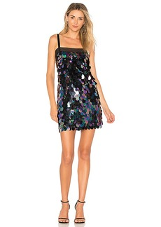 MILLY Sequin Mini Dress in Navy. - size 4 (also in 0,2,6)