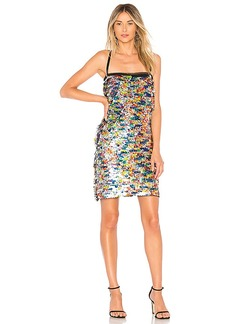 MILLY Sequins Mini Dress