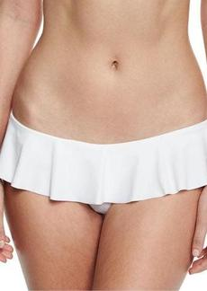 Milly Sirolo Italian Solid Ruffle Swim Bottom