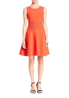 MILLY Sleeveless A-Line Dress