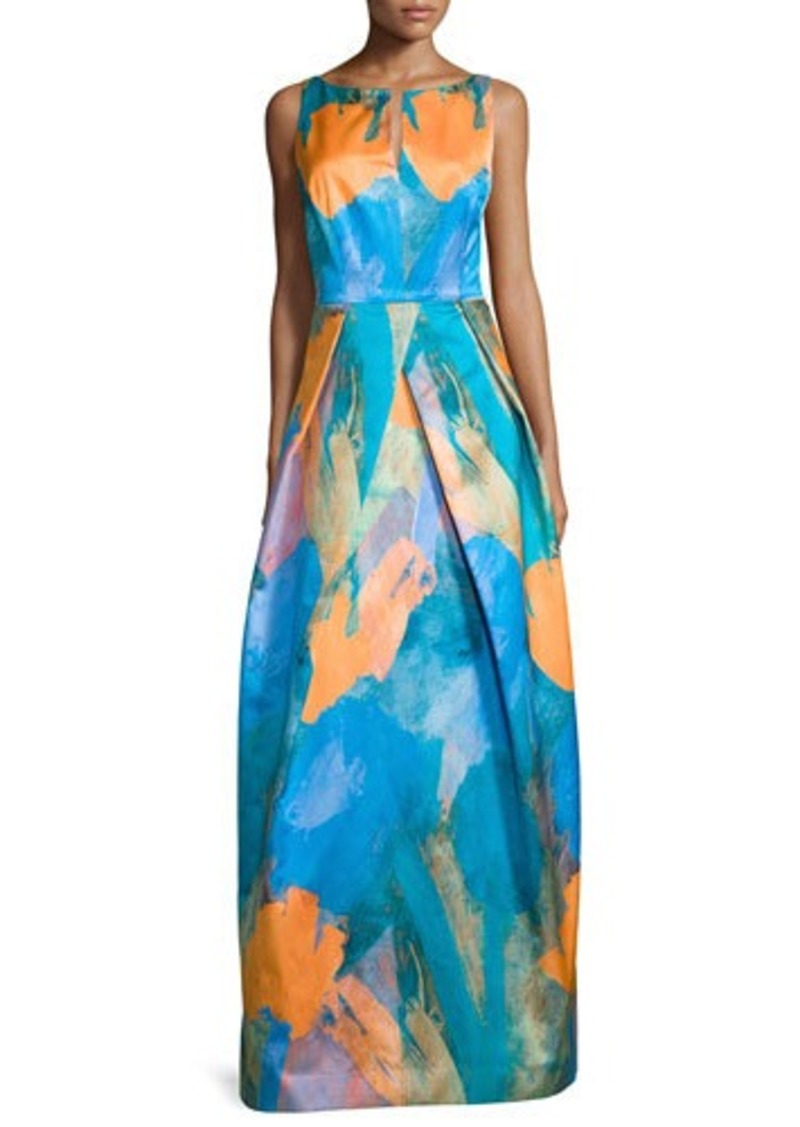 Milly Milly Sleeveless Abstract-Print Gown | Dresses