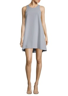 Milly Sleeveless Trapeze Dress