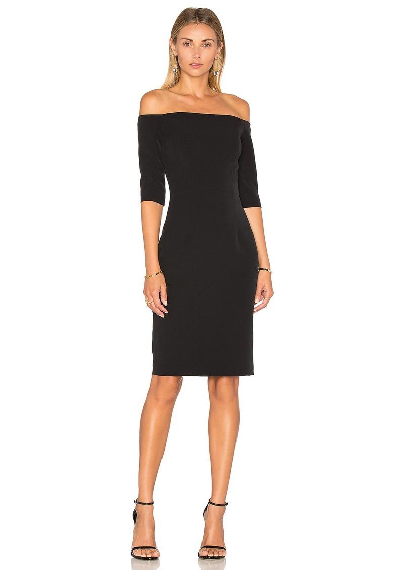 MILLY Slim Off the Shoulder Dress
