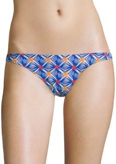 Milly St. Lucia Mosaic Printed Bikini Bottom