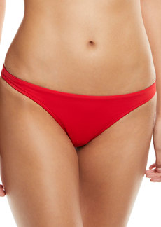 Milly St. Lucia Solid Bikini Swim Bikini Bottoms