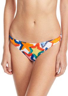 Milly St. Lucia Star-Print Swim Bikini Bottoms