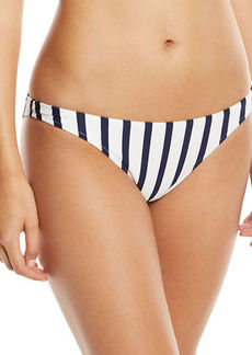 Milly St. Lucia Striped Bikini Swim Bikini Bottom