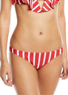 Milly St. Lucia Striped Bikini Swim Bikini Bottom