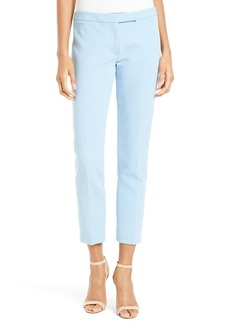 Milly Stretch Crepe Cigarette Pant