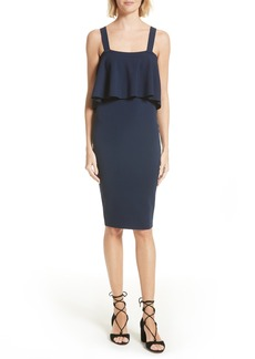 Milly Stretch Knit Midi Dress