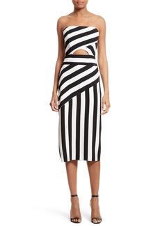 Milly Stripe Midi Dress