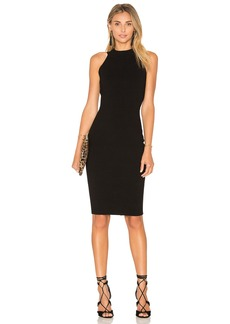 MILLY Structured Midi Dress