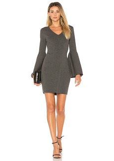 MILLY Swing Dress in Charcoal. - size L (also in S,XS)