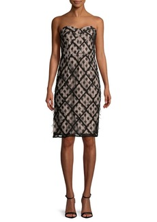 Milly Textured Dots Sheath Dress